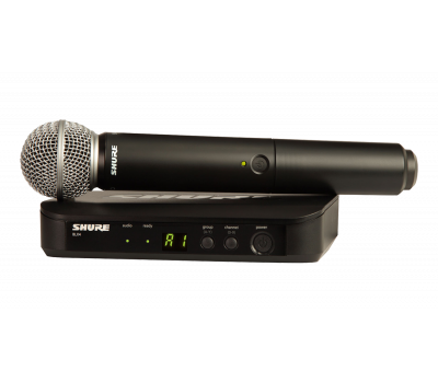 Радиомикрофон для караоке Shure BLX24E/SM58